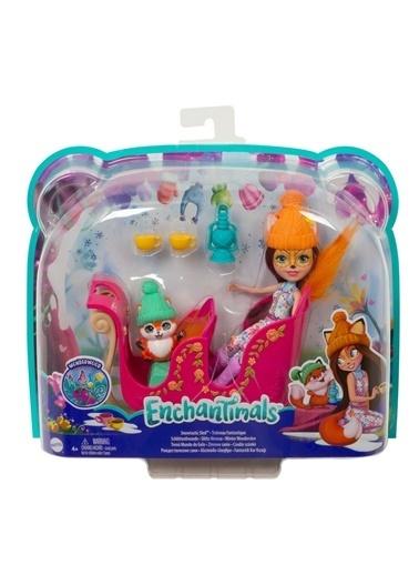 Enchantimals Enchantimals Tilki Felicity Bebek Ve Oyun Aracı Çocuk Seti Renkli